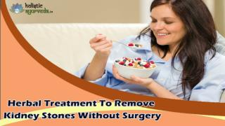 Herbal Treatment To Remove Kidney Stones Without Surgery