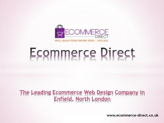 Top Ecommerce Web Design Company in North London