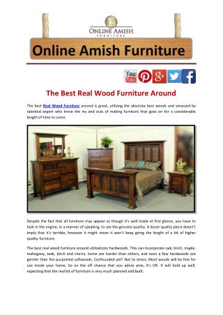 The Best Real Wood Furniture Around