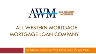 All Western Mortgage | Mortgage Amortization Calculator