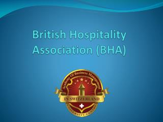 British Hospitality Association (BHA)