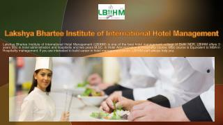 Top Hotel Management Institutes in Delhi