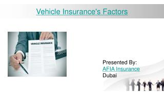 Factors to keep in mind while purchasing Vehicle Insurance Dubai