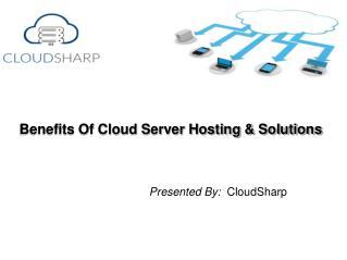Get Maximum Benefit's Of Cloud Sharing Solutions