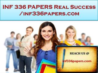 INF 336 PAPERS Real Success /inf336papers.com