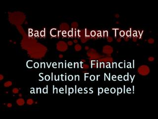 Bad Credit Loan Today Means Better Way to Deal With Cash Needs
