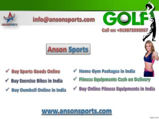 Save your travel time by setting up home gym with Anson Sports