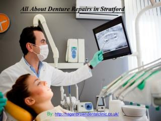 All About Denture Repairs in Stratford