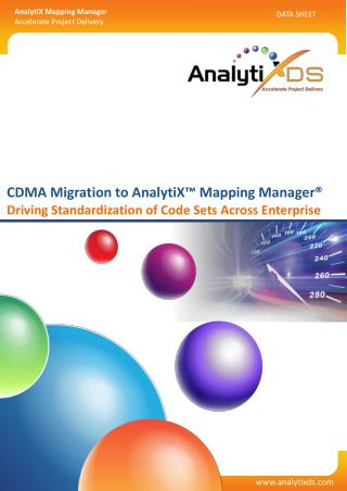 Code Data Mapping Application Migration | CDMA  Migration