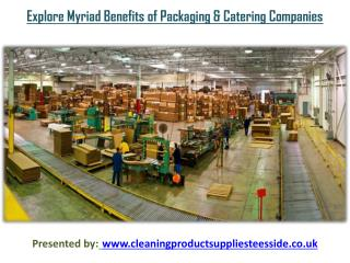 Explore Myriad Benefits of Packaging and Catering Companies