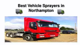 Vehicle Sprayers Northampton