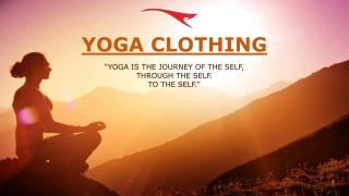 Sit Back, Meditate With Comfy Yoga Wear From Alanic