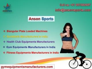 Find the perfect gym equipment manufacturer for you