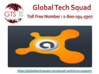 Ring on 1-800-294-5907 Avast Antivirus support number to get support