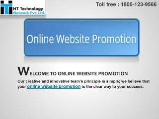 Online Website Promotion