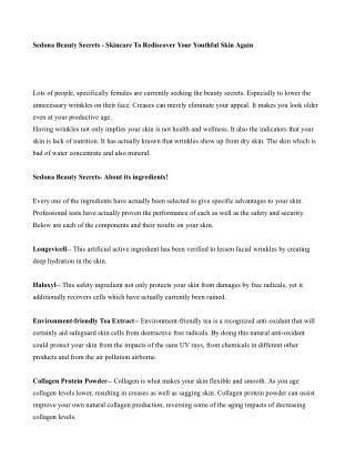 Sedona Beauty Secrets Review - Pure Anti-Aging Cosmetic Makeup ...