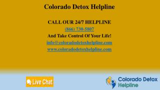 Colorado Detox Helpline