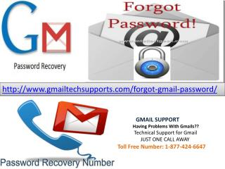 Forgot gmail password recovery (877)-424-6647 help contact