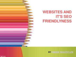 How to make SEO Friendly Websites