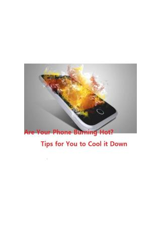 How to Prevent Your iPhone from Overheating