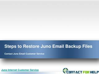 7 Handy Steps to Restore Juno Email Backup Files Successfully