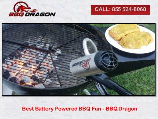 Best Battery Powered BBQ Fan - BBQ Dragon