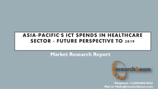 Asia-Pacific's ICT Spends in Government Sector - Future Perspective to 2019