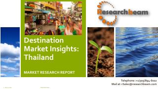 Destination Market Insights: Thailand