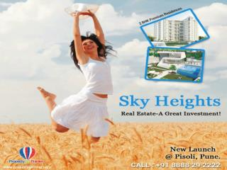 Sky Heights Pune by Lushlife Developers