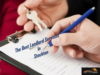 The Best Landlord Services In Stockton