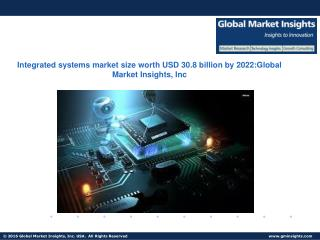 Integrated systems market size worth USD 30.8 billion by 2022, at a CAGR of 15.0% from 2015 to 2022
