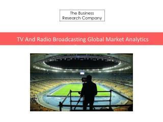 TV And Radio Broadcasting GMA Report 2016-TOC