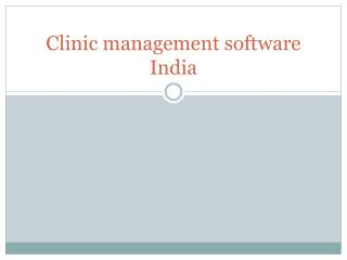 Benefits of the Doctor and  Clinic Management Software