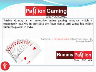 Online Rummy |  Face of Online Rummy In India.