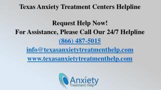 Texas Anxiety Treatment Centers Helpline