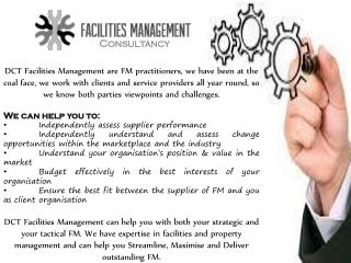 Excluesive Management Consultancy By DCT Facilities Management