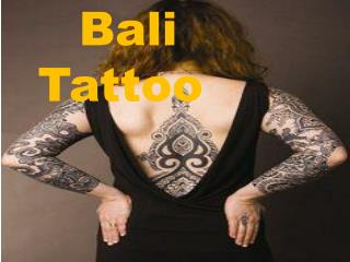 Latest Design Of Bali Tattoo