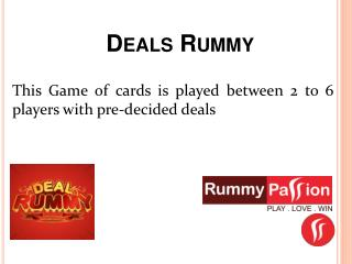 Deals Rummy | Rummy Passion
