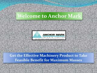 Automatic Capsule Filling Machine, Anchormark