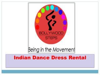 Indian Dance Dress Rental