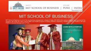 Top B Schools in India