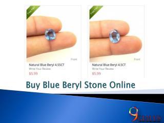 Buy Blue Beryl Gemstone Online
