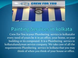 Painting services in Kolkata