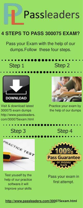 Passleader 300-075 Practice Test