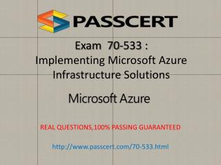 Microsoft 70-533 exam practice test download