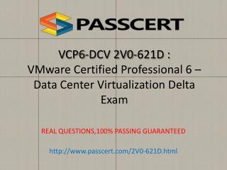 VMware VCP6-DCV 2V0-621D dumps