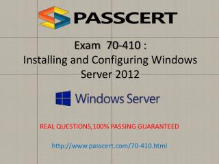 Microsoft 70-410 exam practice test download