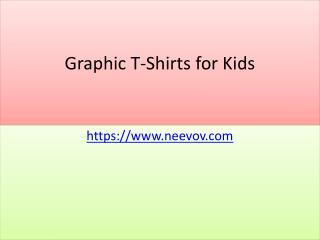 Kids Turquoise Colour Graphic T Shirts