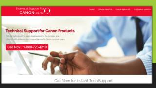 Canon Printer Customer Care Toll Free Number 18007234210