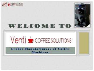 Business coffee machine is bound to impact on your business